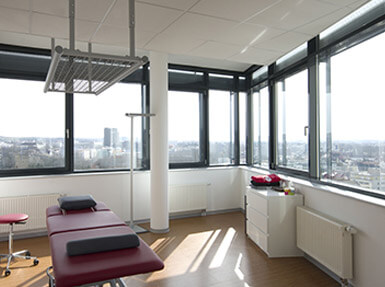 Behandlungsraum Physiotherapie Heilbronn